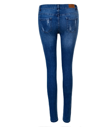 Quần skinny jeans rách nữ AAA JEANS XB - A2