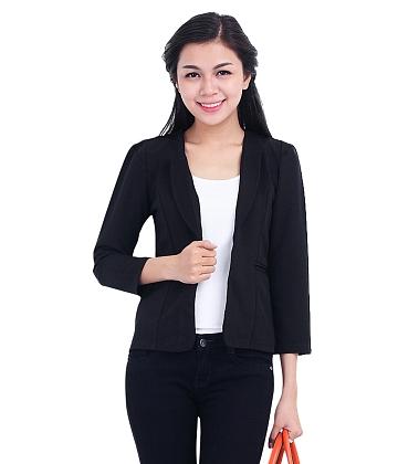 Áo khoác cổ giả vest - A3