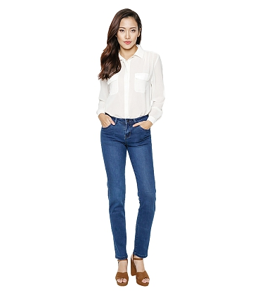 Quần Jeans nữ ống đứng AAA JEANS XT26 - A3