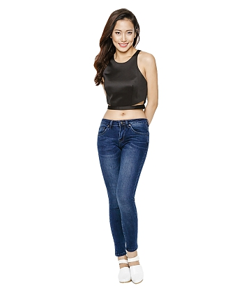 Quần skinny jean nữ AAA JEANS MR26 - A3