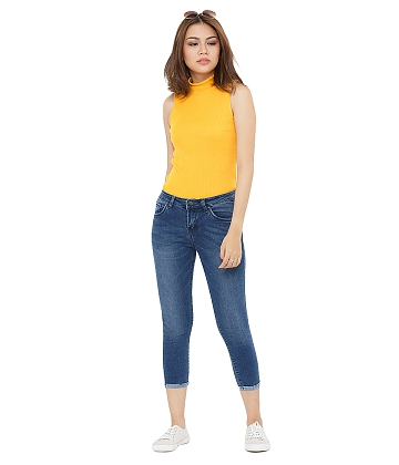 Quần skinny jeans lửng nữ AAA JEANS AR26 - A3