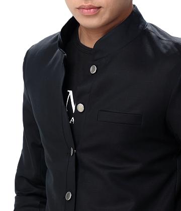 Áo khoác kaki nam giả vest - A1