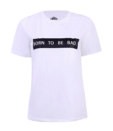 Áo thun nam nữ Born To Be Bad - A6