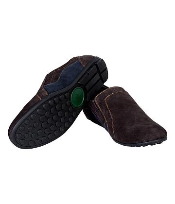 Giày mọi nam da lộn GIA VI S129 - A4