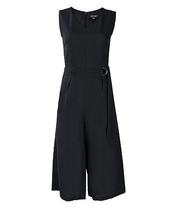 Jumpsuit cổ tim ống rộng KMODE - A4