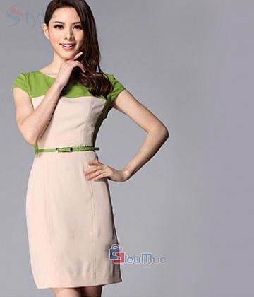Đầm công sở Luxi
