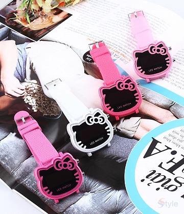 Đồng hồ nữ chú mèo xinh xắn - A5