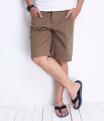 Quần short kaki nam milo color