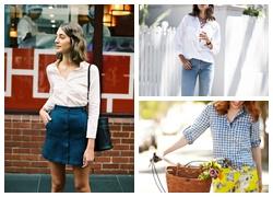 Những cách mix áo sơ mi ấn tượng cho cô nàng phong cách trẻ trung