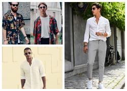 Quần tây và áo sơ mi – bộ đôi khiến anh chàng nào cũng lịch lãm, thu hút