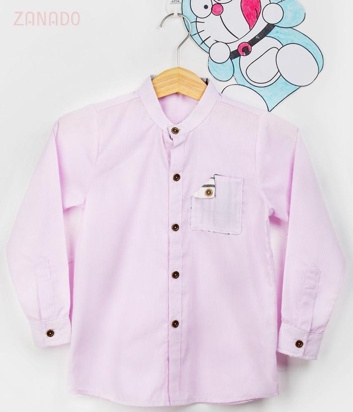 Combo 2 áo sơ mi cho bé trai lịch lãm - 1