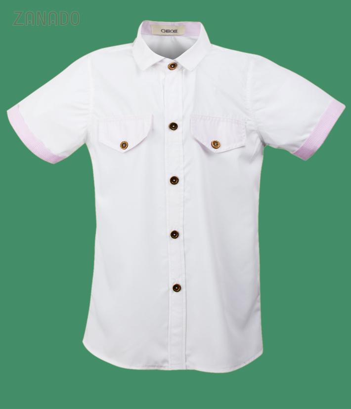 Combo 2 áo sơ mi cho bé trai lịch lãm - 4