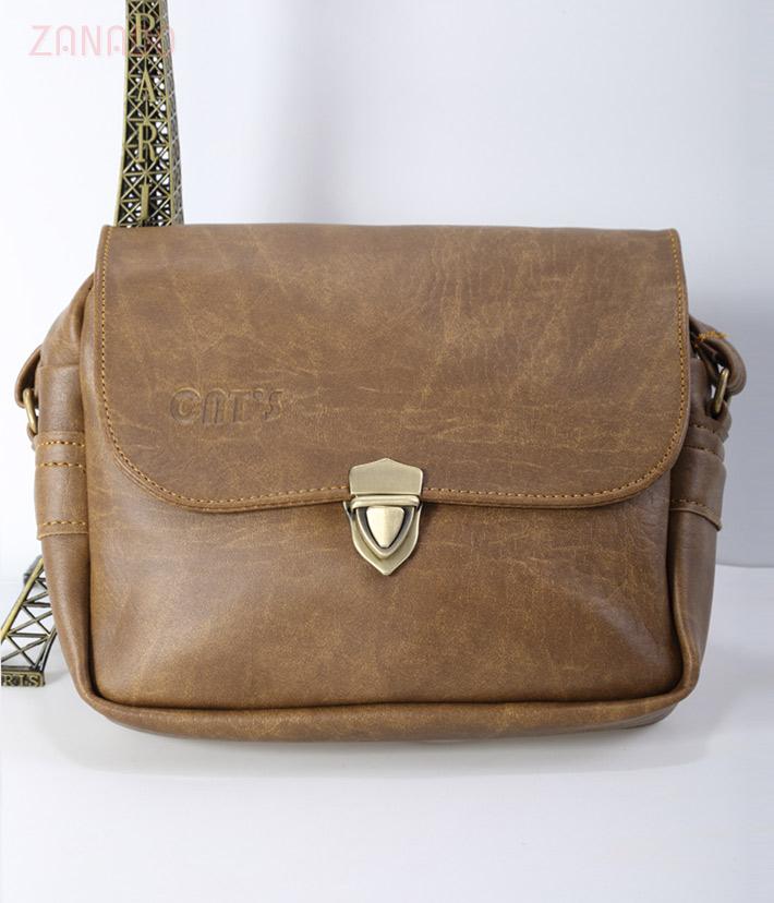 Túi nữ đeo chéo CNT 08 phối khóa - 1