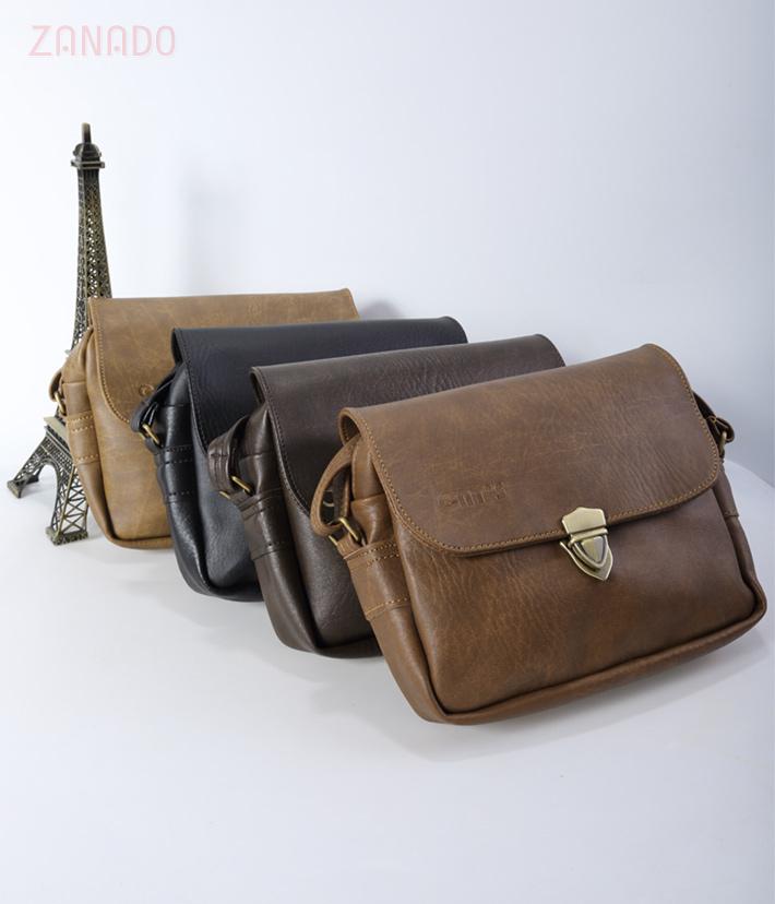 Túi nữ đeo chéo CNT 08 phối khóa - 9
