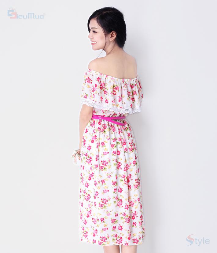 Đầm Maxi Pinkflowers - 7