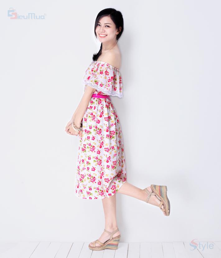 Đầm Maxi Pinkflowers - 8