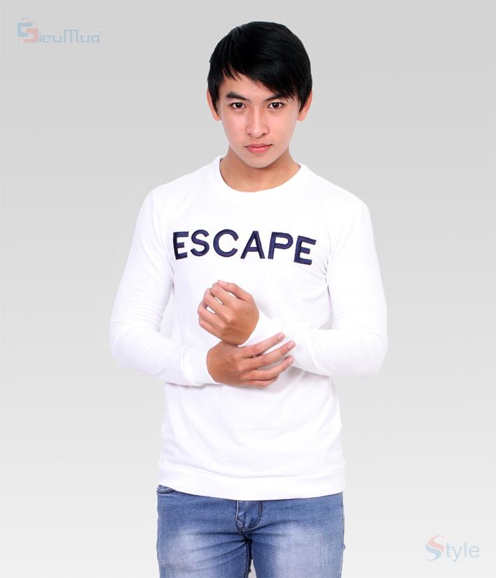 Áo thun nam tay dài Escaper - 5